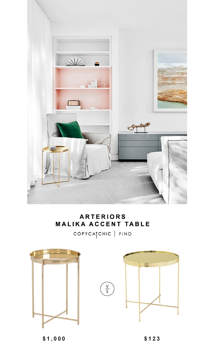 arteriors accent table copycatchic look for less jules small round bedside cloths night stand light simple coffee plans safavieh couture kohls floor lamps square side tables