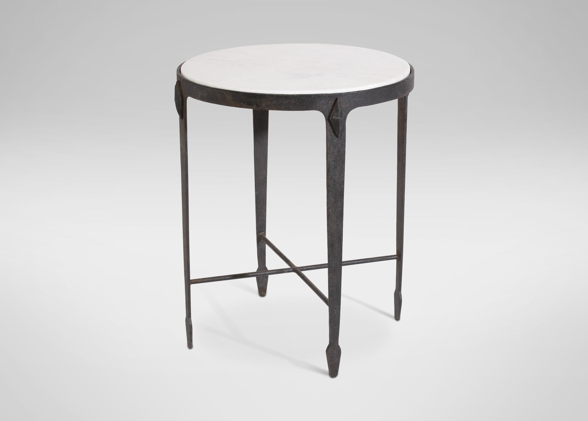 arteriors chloe brass and white accent table marble top plans jaca tables furniture ideas intended for designs barn door track farmhouse dining room drum kit tall nightstand