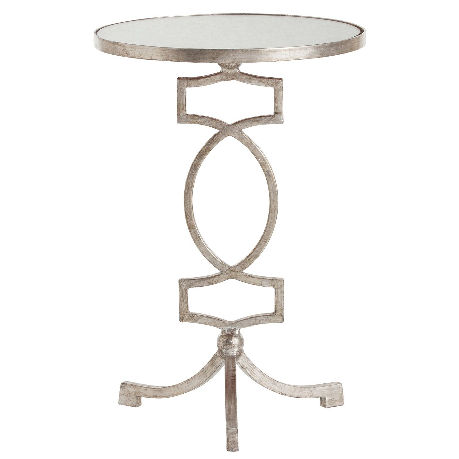 arteriors cooper silver leaf accent table laylagrayce purple placemats and napkins small low coffee half moon modern furniture lighting black garden side cube tall occasional iron