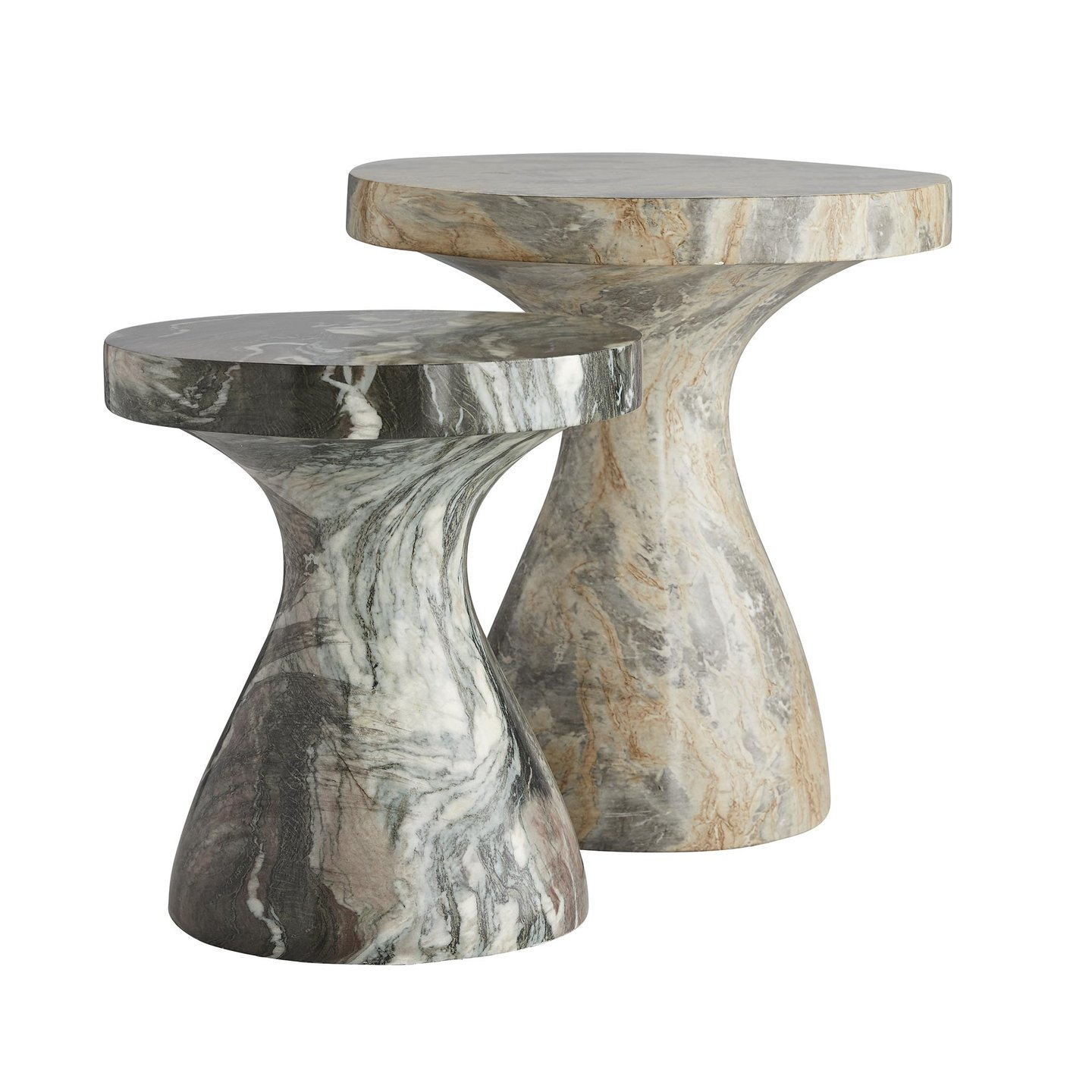 arteriors home serafina small accent table and large gray with live edge walnut mango nest tables ott drawers drum style pallet coffee ideas outdoor grill island painted round