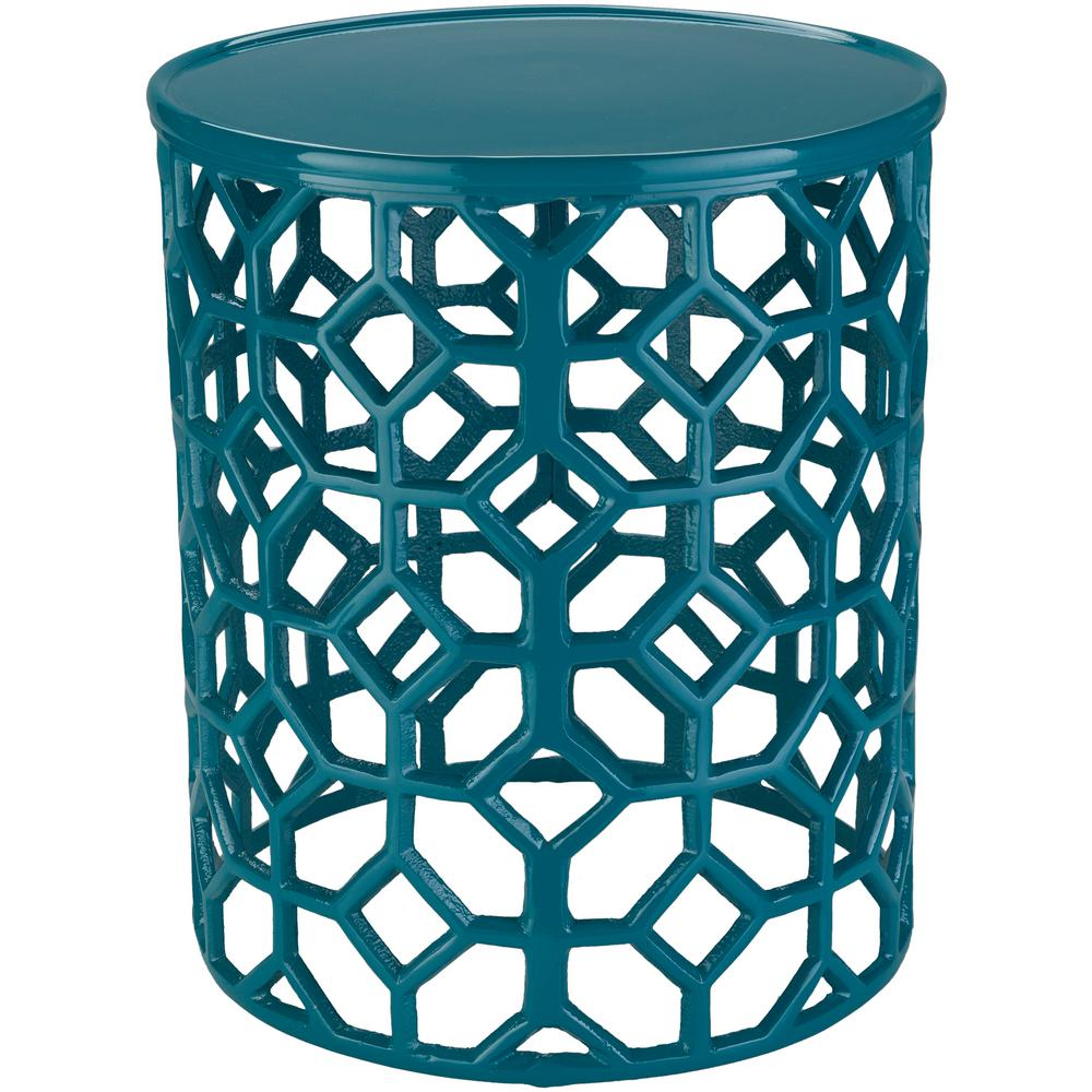 artistic weavers athina teal accent table the end tables turquoise sofa marble and black coffee antique oak bedside rustic gray touch lamps target small mirrored nightstand modern