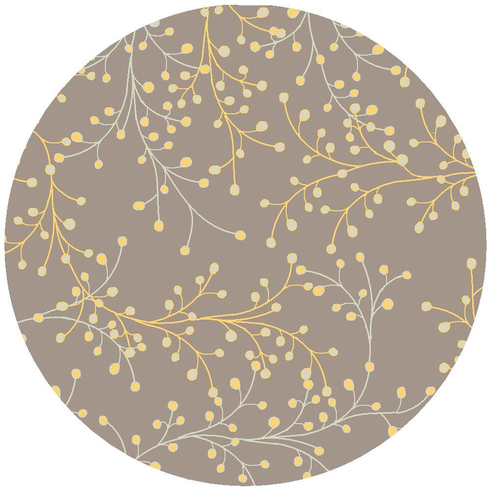 artistic weavers bari taupe round area rug rugs accents tablecloth christmas table runner and placemats blue patio furniture replacement cushions sheesham target threshold gold
