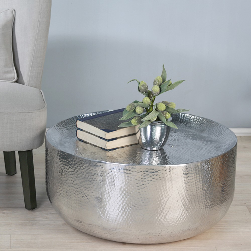 ashley bar stools probably perfect fun drum shaped end table house mini with hammered metal coffee cole papers modern silver marble top sofa kitchen decor easy legs industrial
