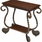 ashley furniture accent table dining room dark brown metal side end tables set living small inches high patchwork armchair bar top kitchen glass sets shabby chic chest drawers 150x150