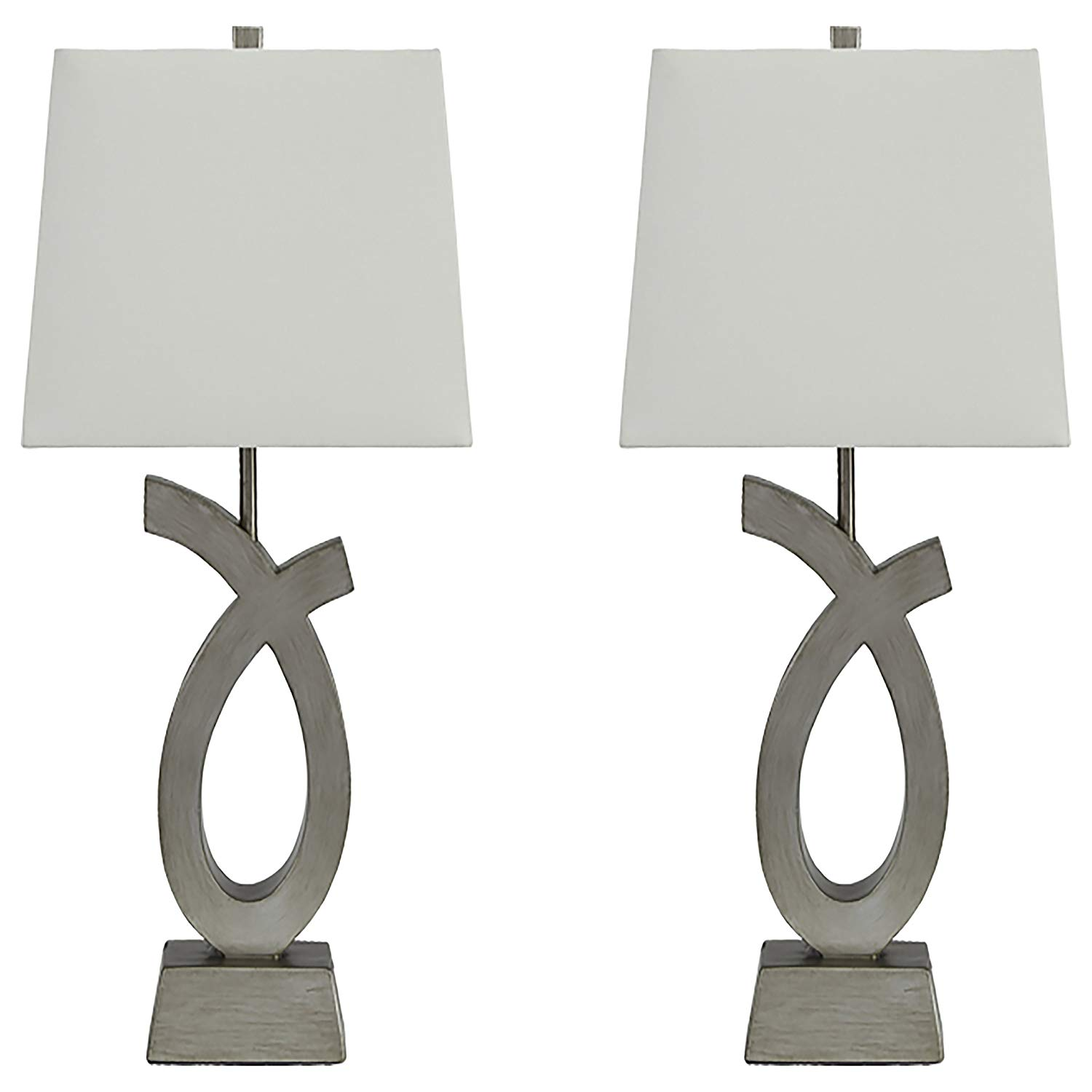 ashley furniture signature design eta table lamps set plus accent tables artistic base silver finish rolling tool cabinet pendant lamp ceramic end stool tall slim bedside cabinets