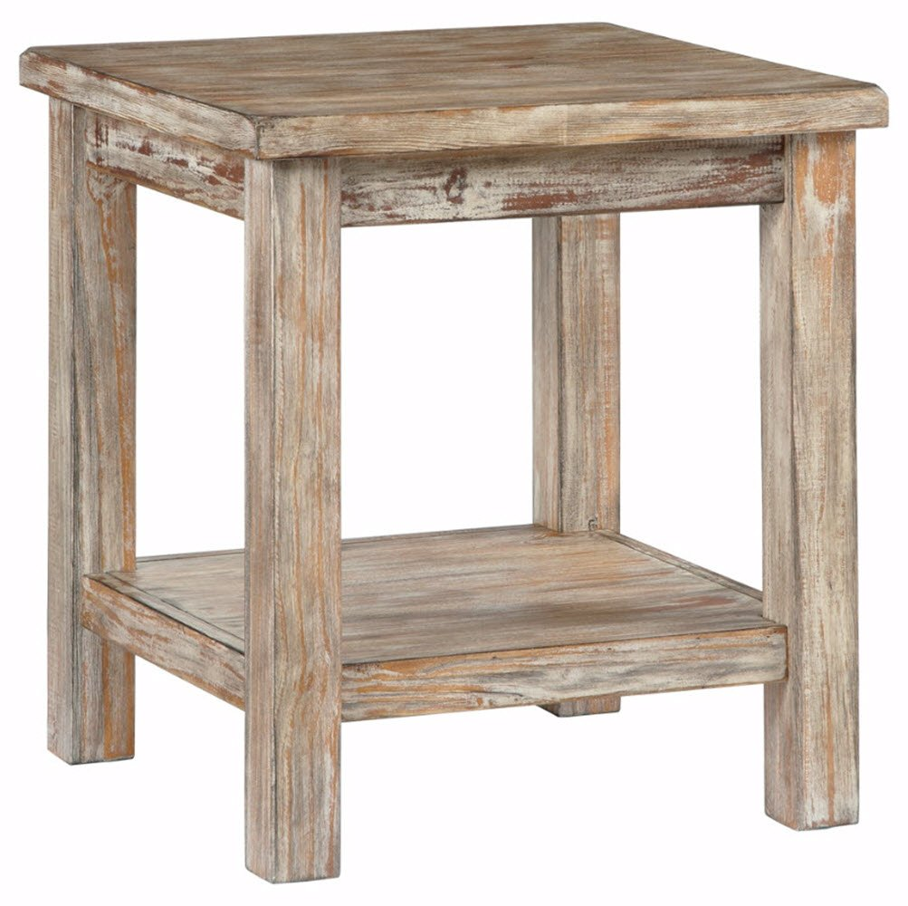 ashley furniture signature design vintage chair side barnwood accent table end rustic brown kitchen dining white and gold nightstand farmhouse patio las vegas glass sheesham wood
