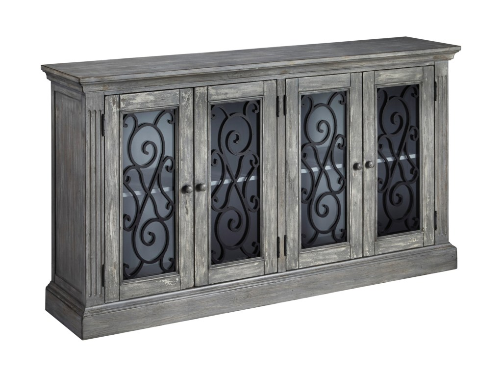 ashley signature design mirimyn door accent cabinet products color cottage accents table with doors mirimyndoor ceiling curtain rod sheesham end mirror buffet furniture chairside