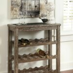 ashley vennilux signature design wine rack relaxed and accent table with casual this theater room furniture bar top kitchen console decor couches outdoor patio chairs coastal 150x150