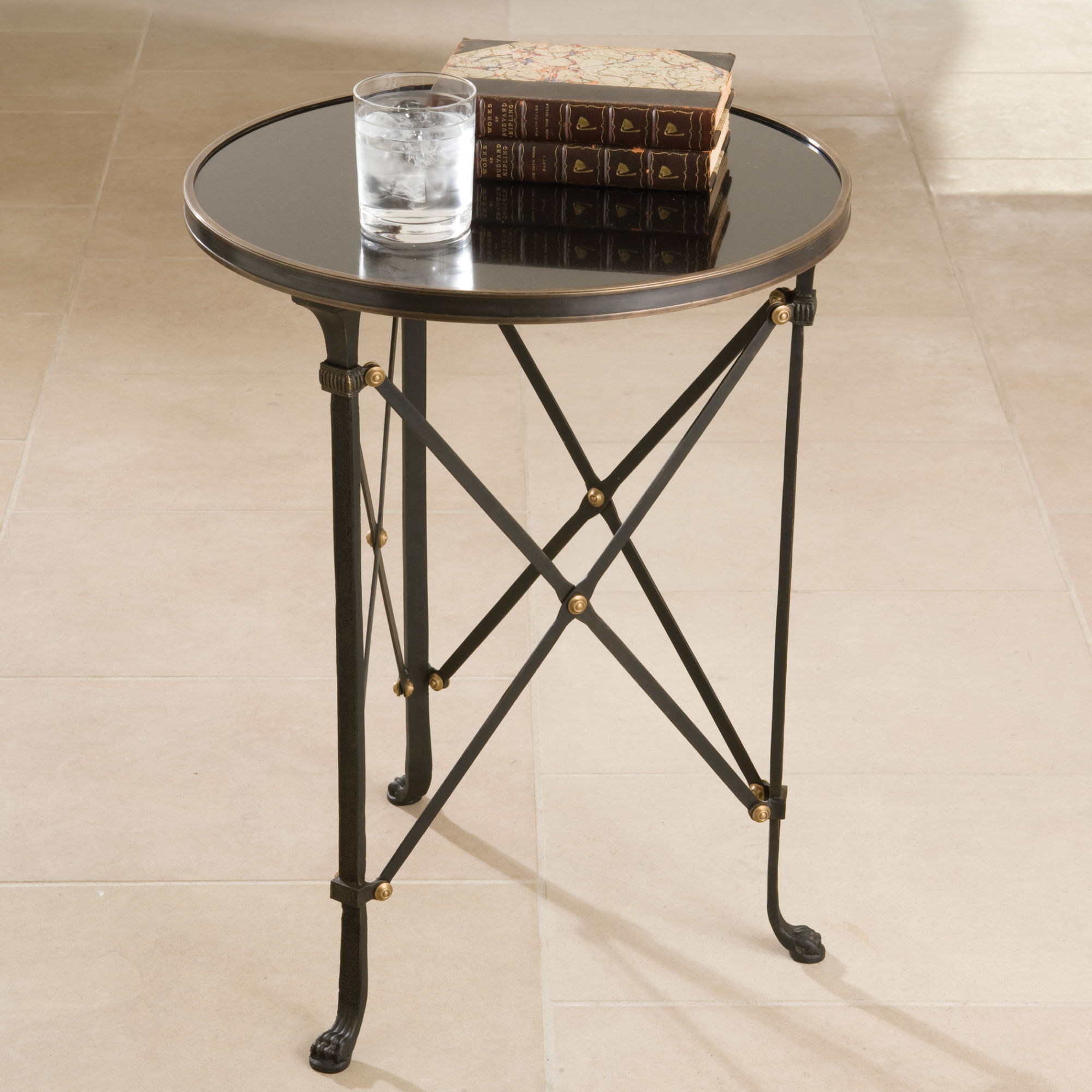 assimilate your house with mirrored accent table gestablishment charlotte west elm stools patio end storage white entrance silver wooden legs unfinished furniture small phone gold