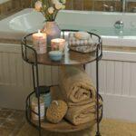 astoria rolling accent table interior bathroom home decor designs crystal globe lamp mirror furniture vintage dining diy legs wood backyard contemporary design distressed blue 150x150