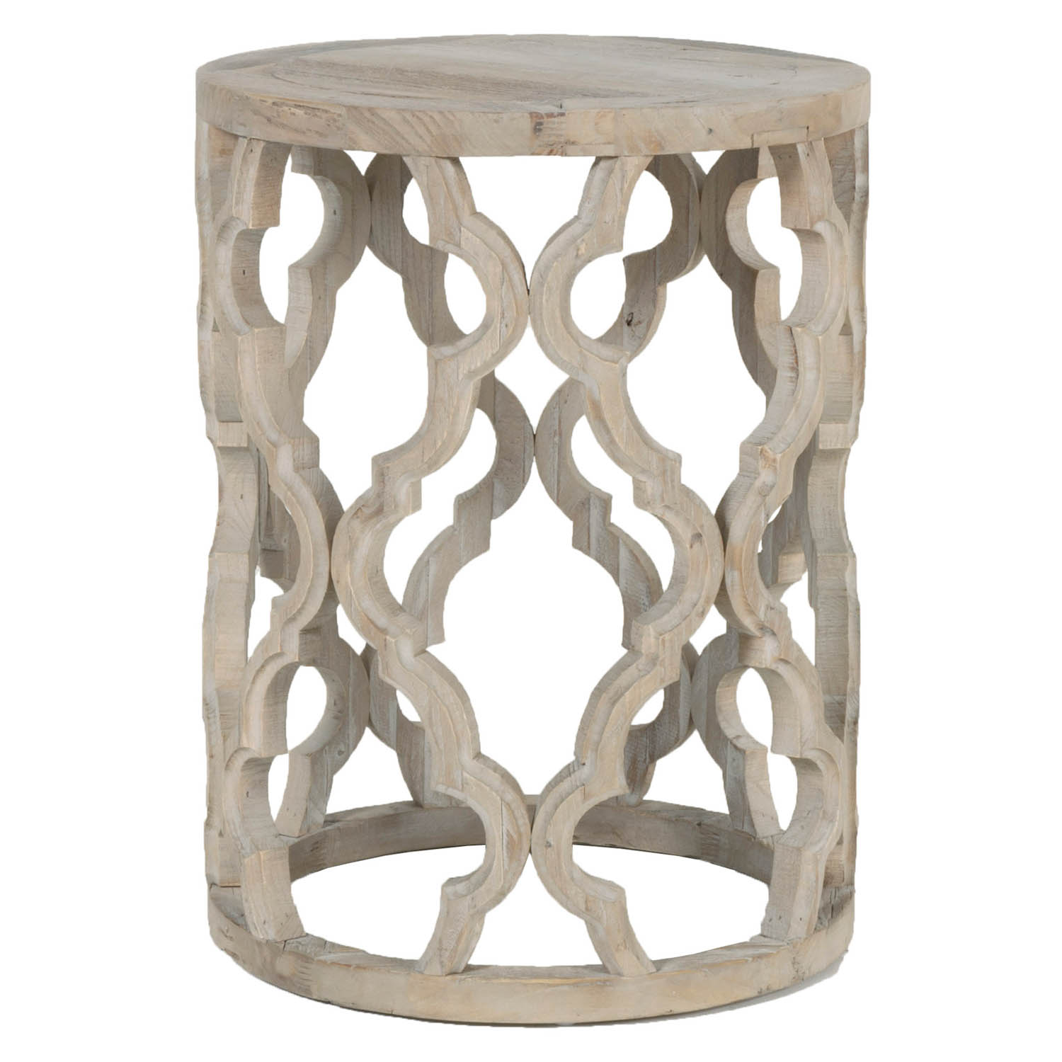 attractive accent end table with pedestal round amp tables wood column magnussen home wolf white outdoor setting high bar kitchen small night patterned armchair black and marble