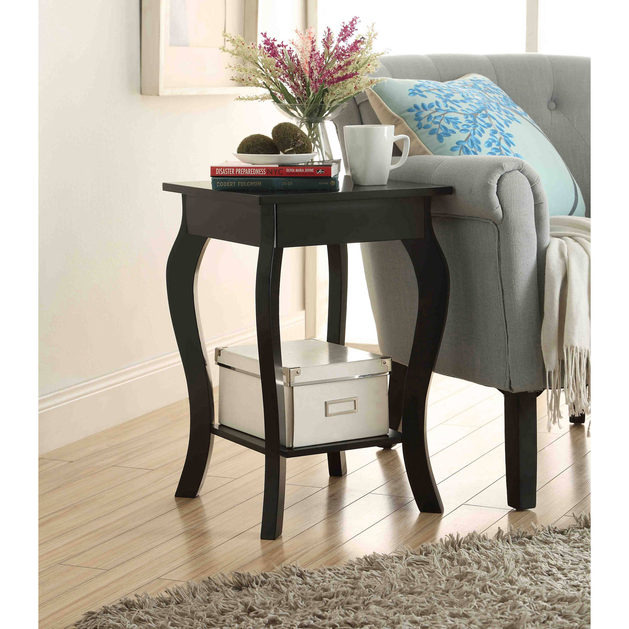 attractive accent end table with pedestal round creative tables lovely column theater room furniture office depot next dining chairs portable outdoor umbrella toledo patio swing