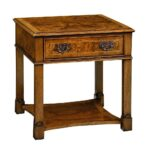 attractive solid wood accent tables for table sets lovely vincenne tall end bookcases oak stool hardwood coffee small farmhouse and chairs runner placemats pub bar height pier one 150x150