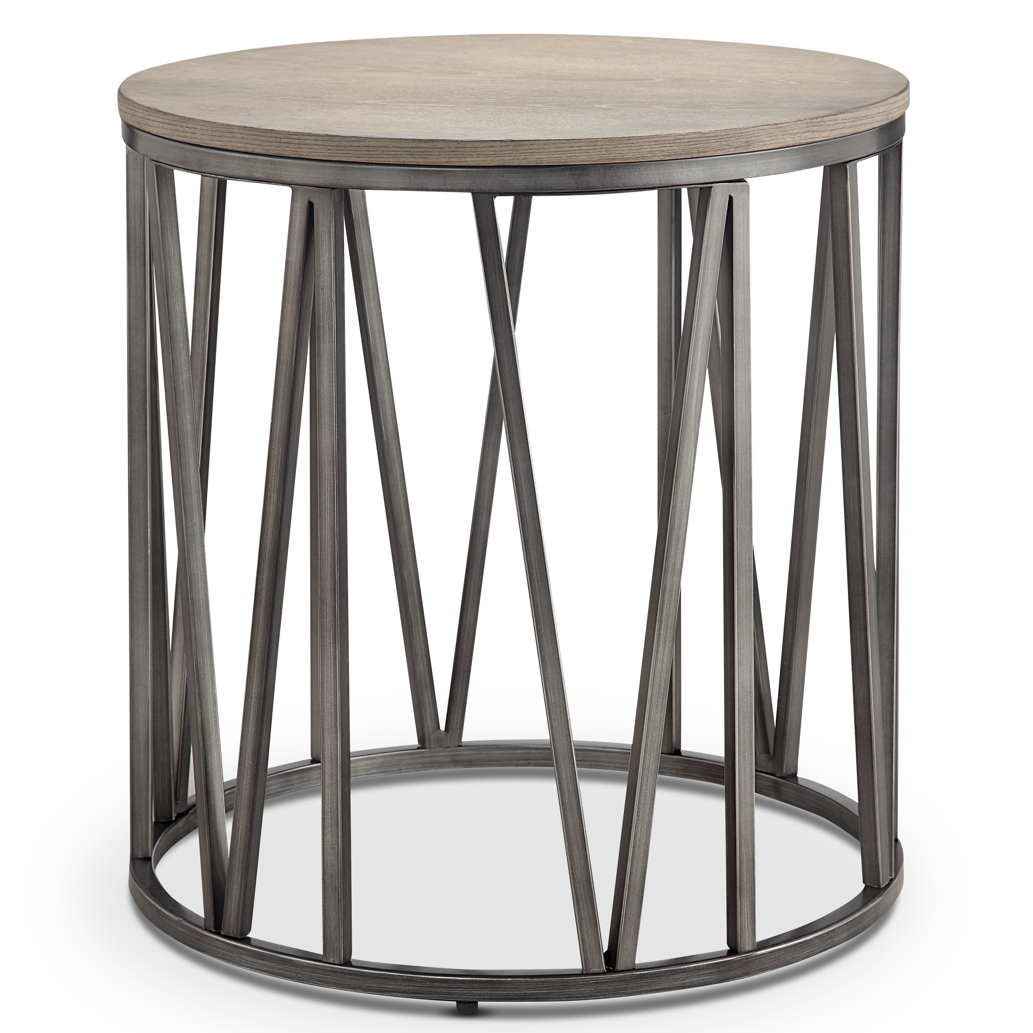 avalon modern weathered white oak round accent end table free shipping today set tables nest ethan allen ballan asian porcelain lamps west elm storage bench side designs with