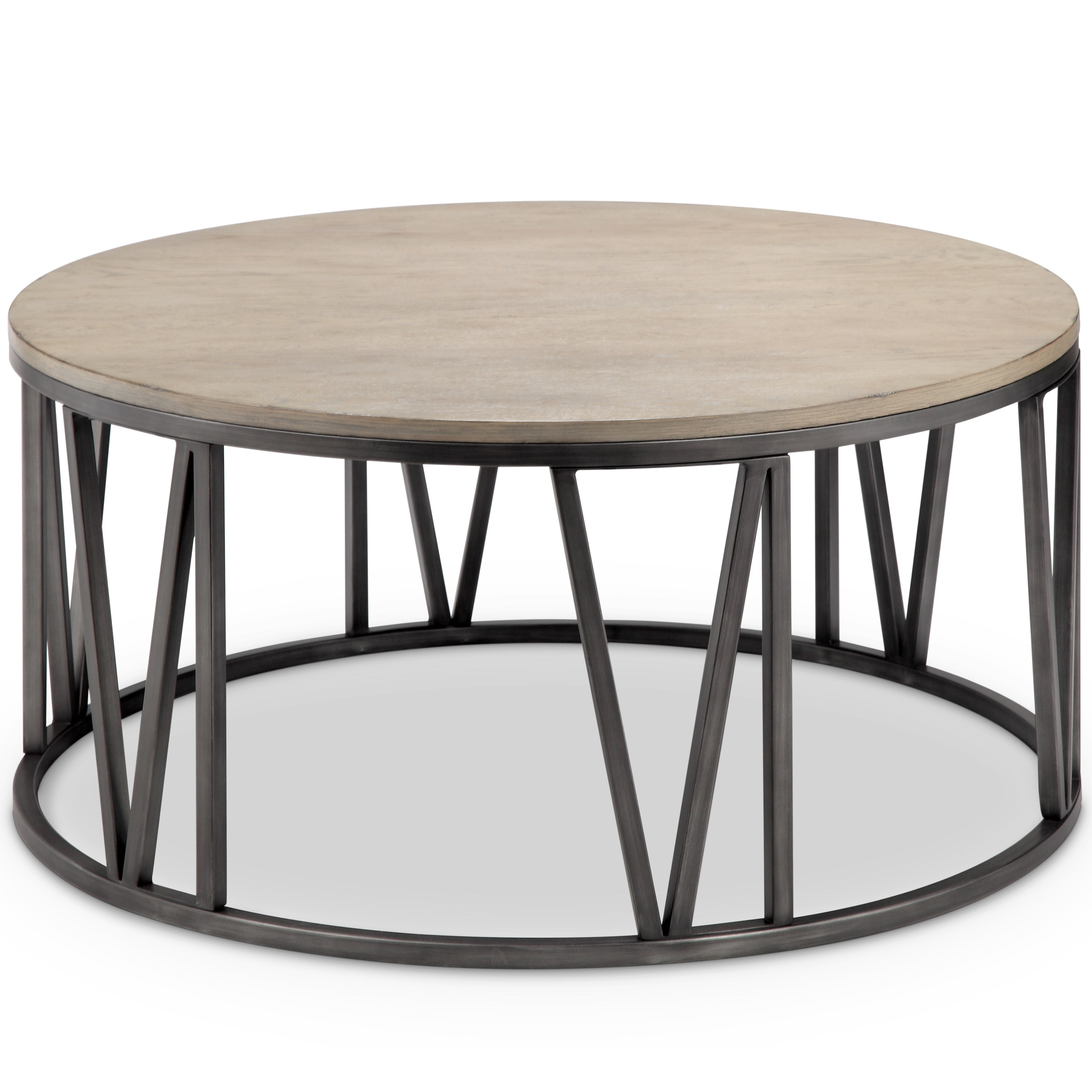 avalon modern weathered white oak round coffee table free accent shipping today speed nesting wood trestle base green painted end tables pottery barn hammock asian porcelain lamps
