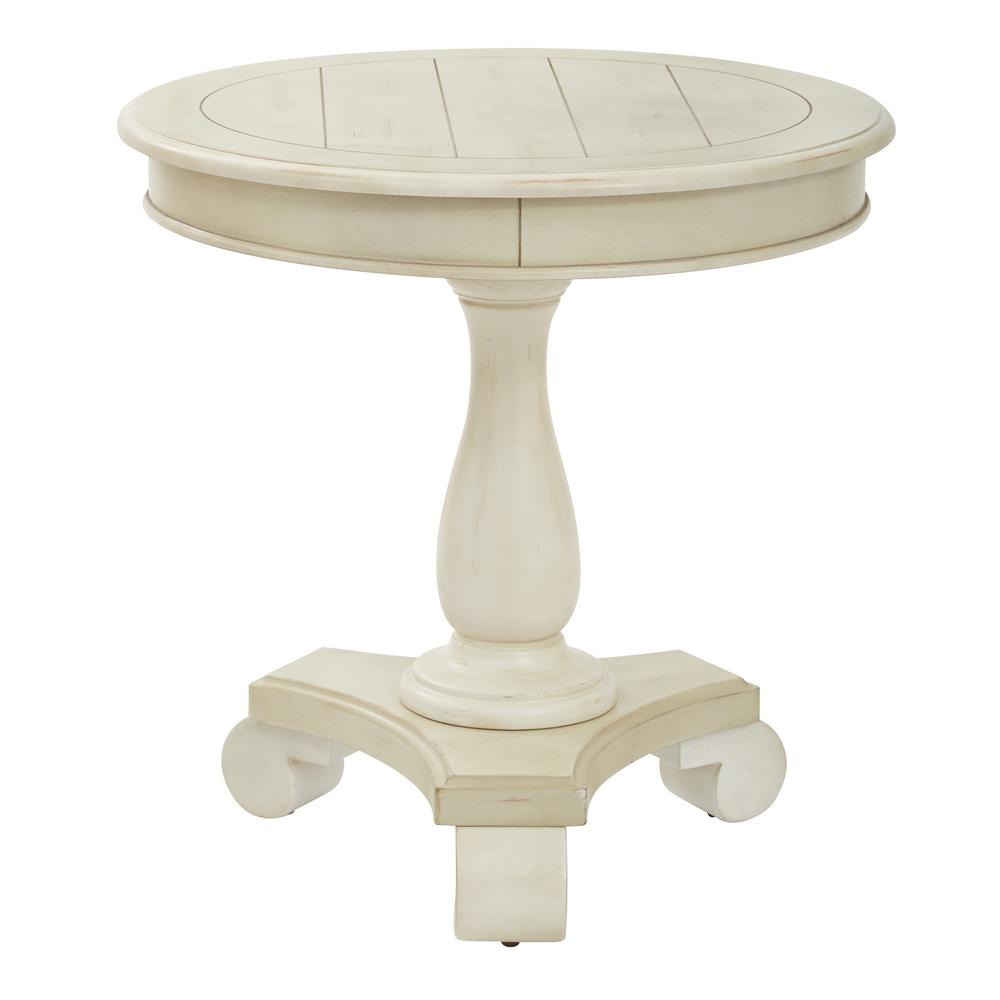 avalon round accent table avlat the antique beige end tables with drawer butler tray tall mirrored side bedside ikea rectangular cover outdoor furniture square dining world blue