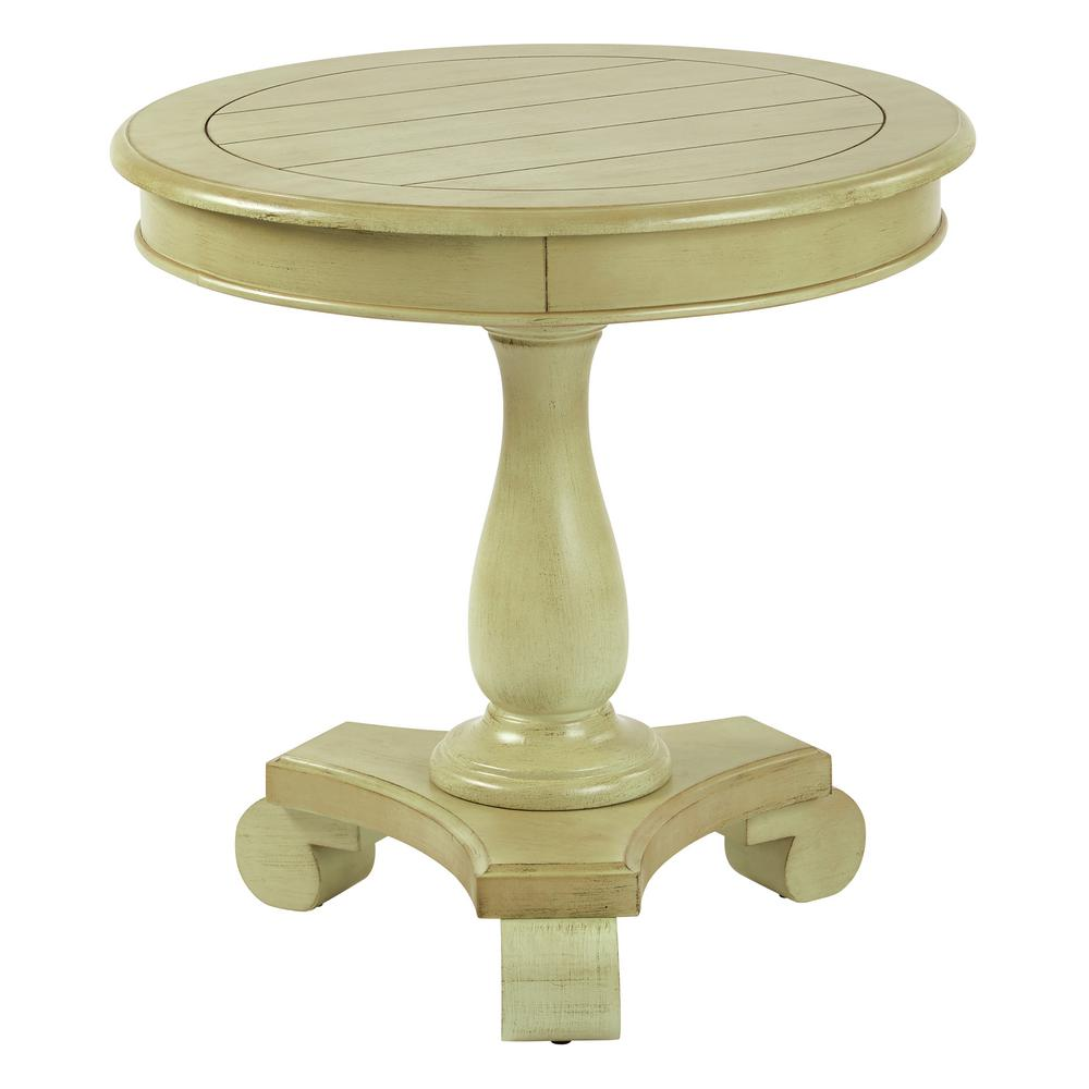 avalon round accent table avlat the antique celadon end tables pedestal nautical themed lamps small patio swing cover butcher block island target white bedside red chest theater