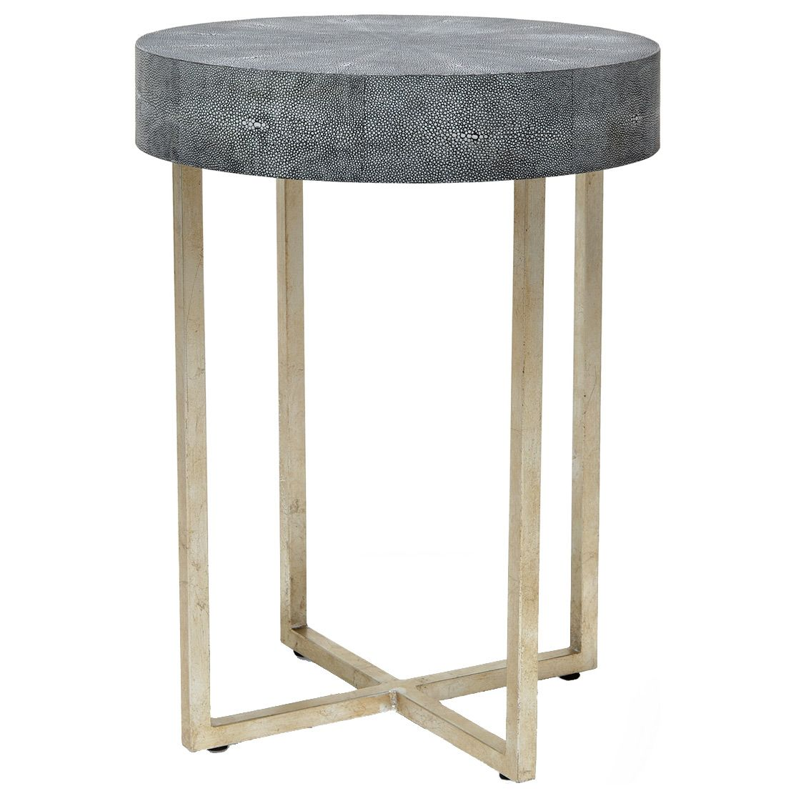 avalon shagreen round side table zinc door zincdoor modern accent fashion fashionweek getthelook lookalikes decor cardboard small white outdoor mirrored decoration pieces for