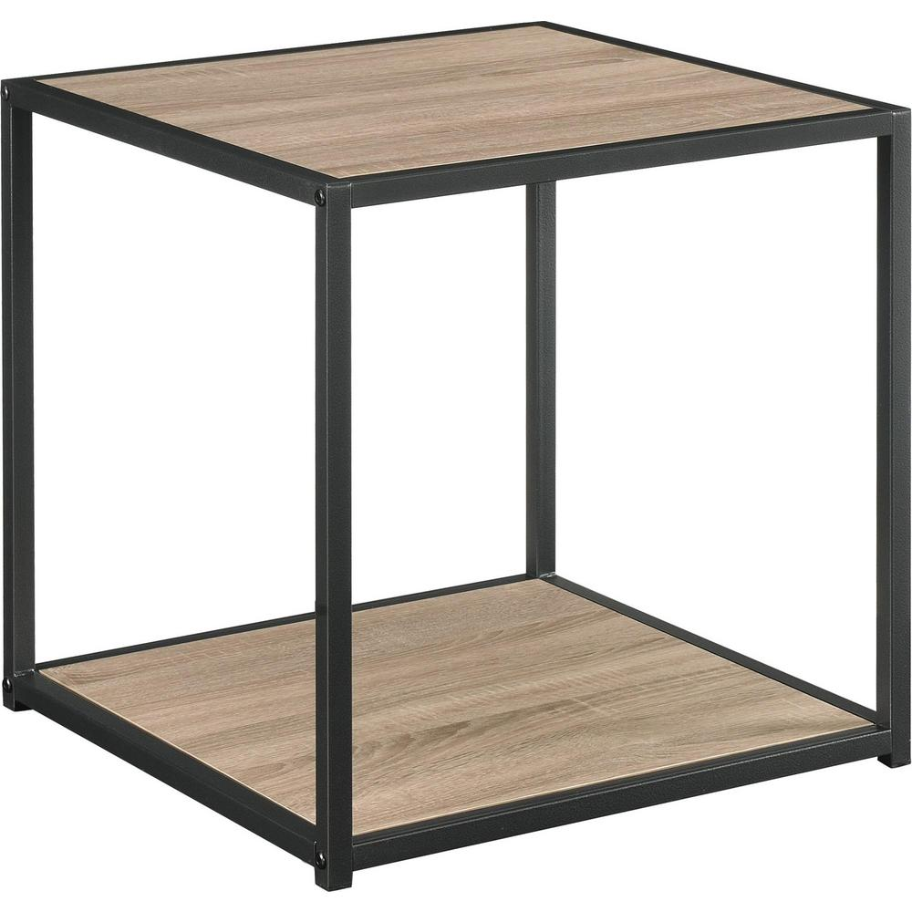 ave six accent tables living room furniture the distressed gray ameriwood end avenue piece chair and table set sun valley oak with metal frame skinny foyer glass top patio dining