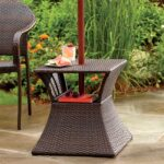 awesome design ideas patio umbrella stand side table stunning with accent end base wicker outdoor commercial furniture unique small tables metal and glass tall living room pier 150x150