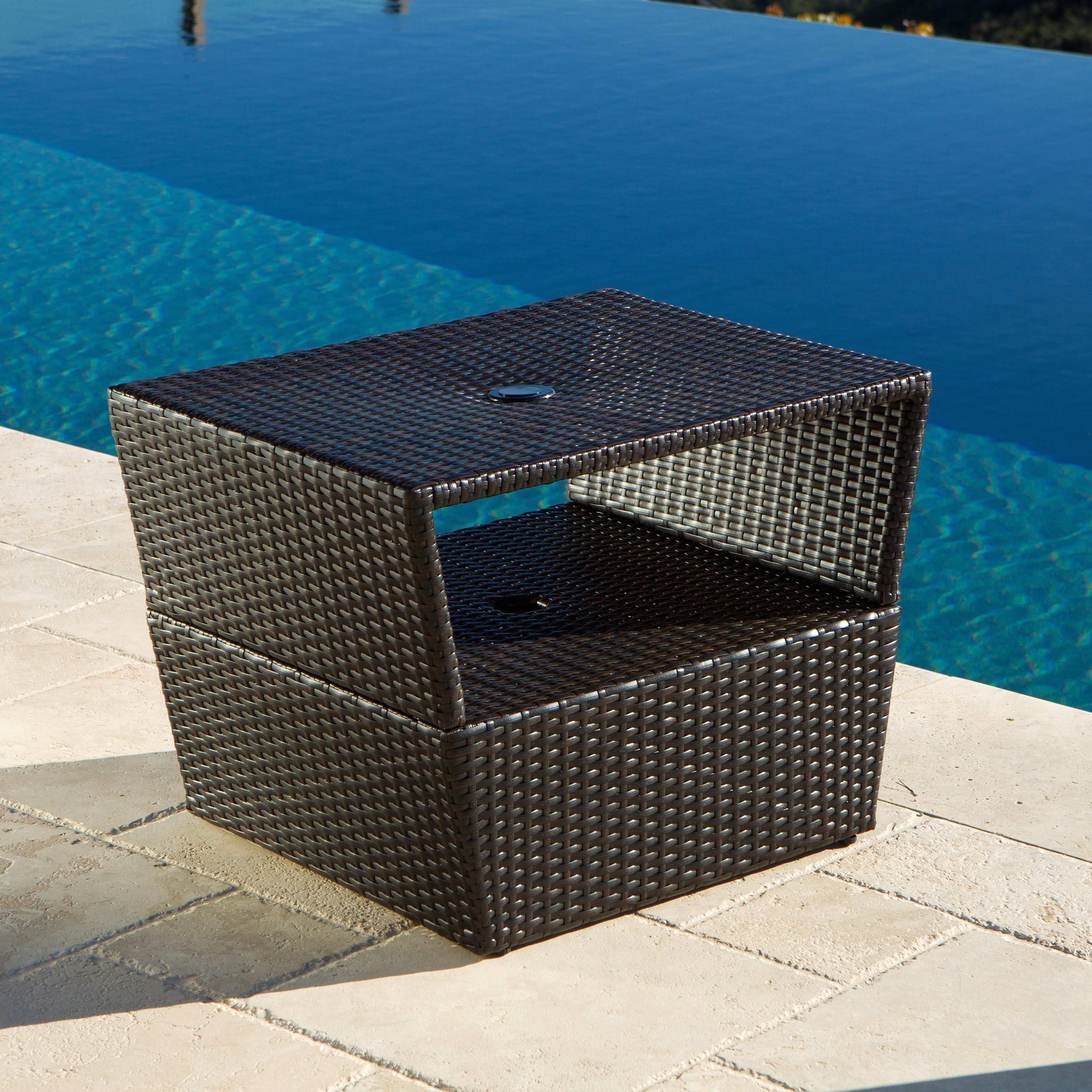 awesome design ideas patio umbrella stand side table trendy rst outdoor dryers wicker furniture ashley couches marble dining and chairs large solid wood round end floating winsome