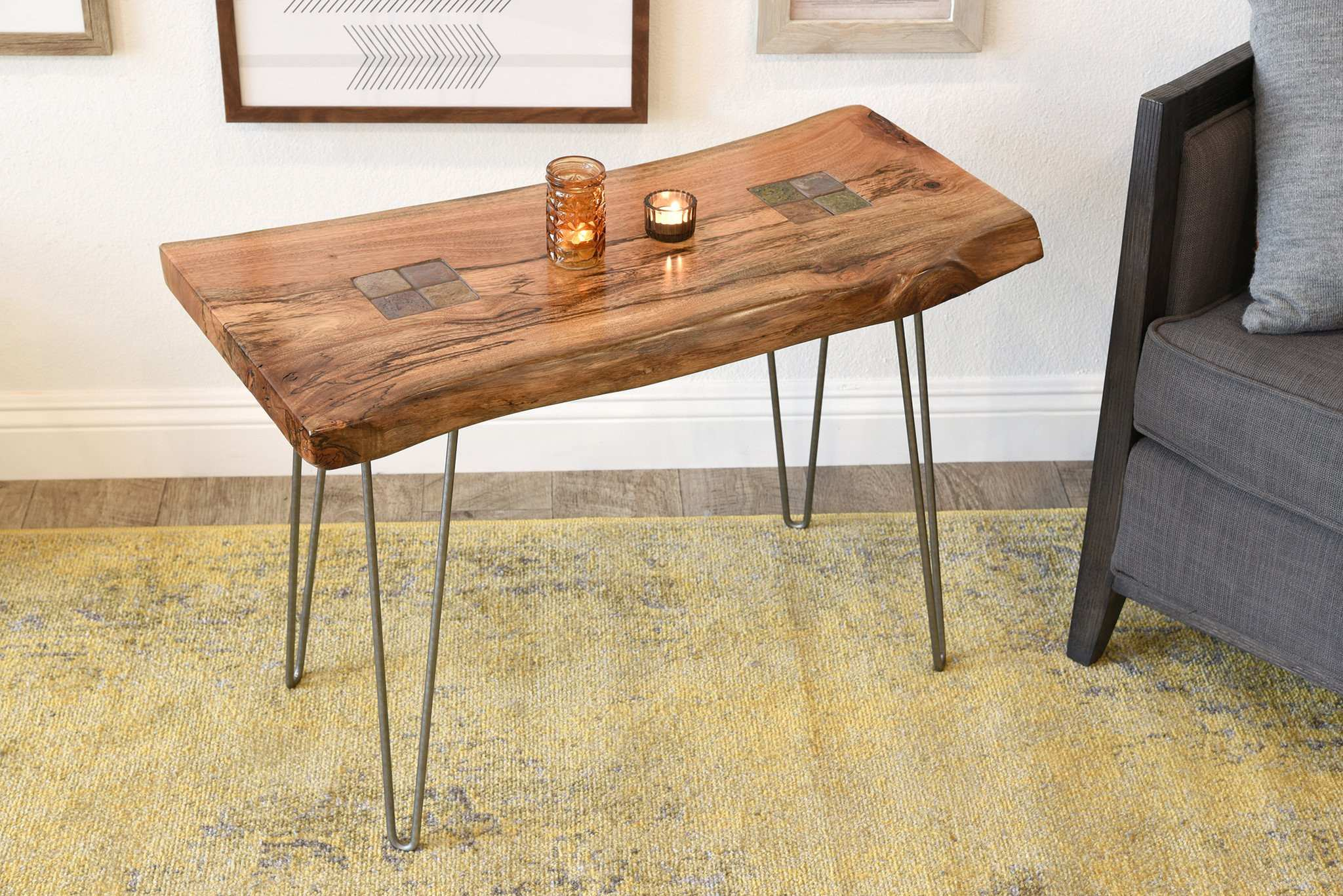 awesome live edge accent table for natural elm entry attractive reclaimed slab end woodwaves wood narrow mirrored console jcpenney curtains ethan allen black half moon small