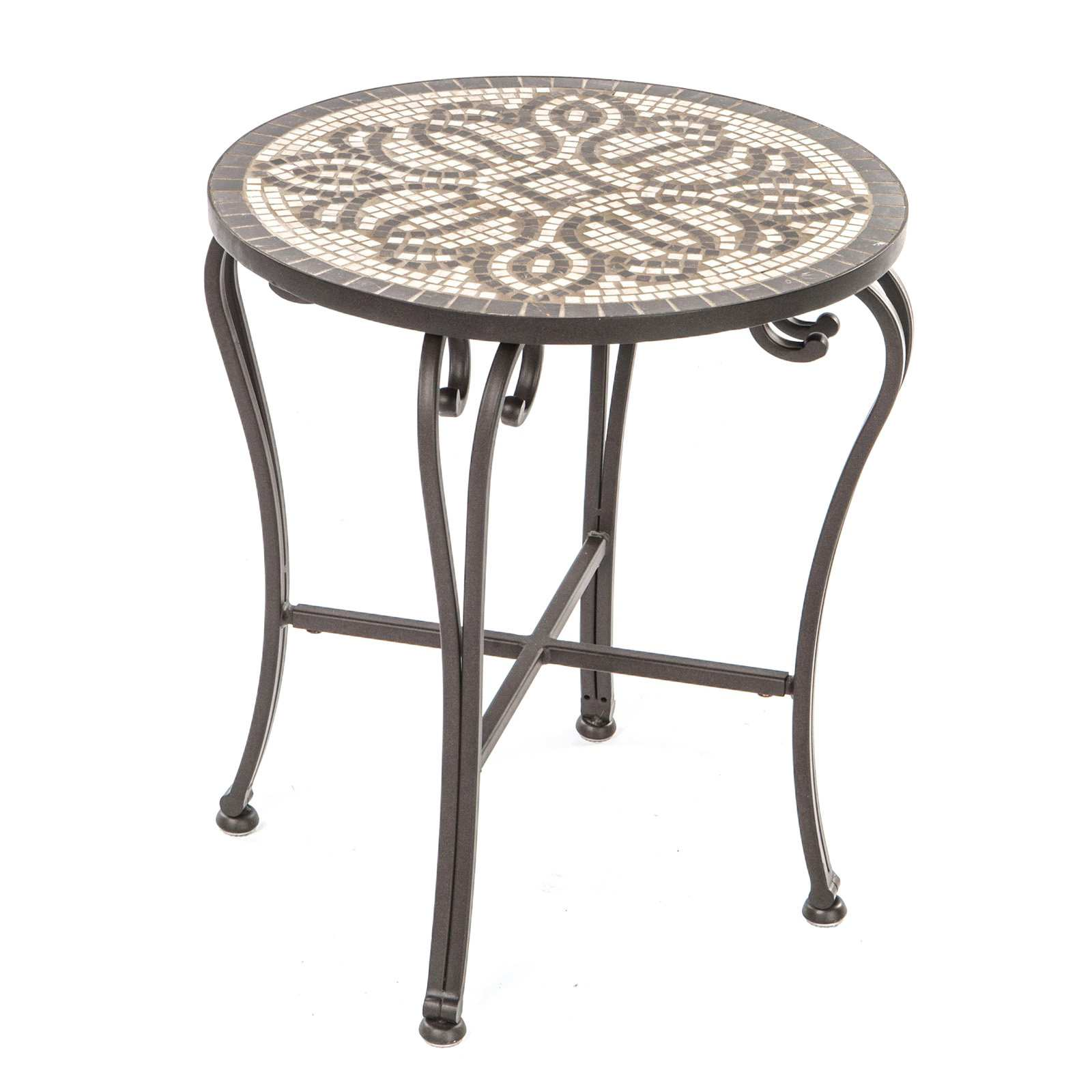 awesome mosaic patio side table from emilio accent cool with orvieto threshold argos tables concrete console round wood outdoor coffee aluminum dining tiffany stained glass