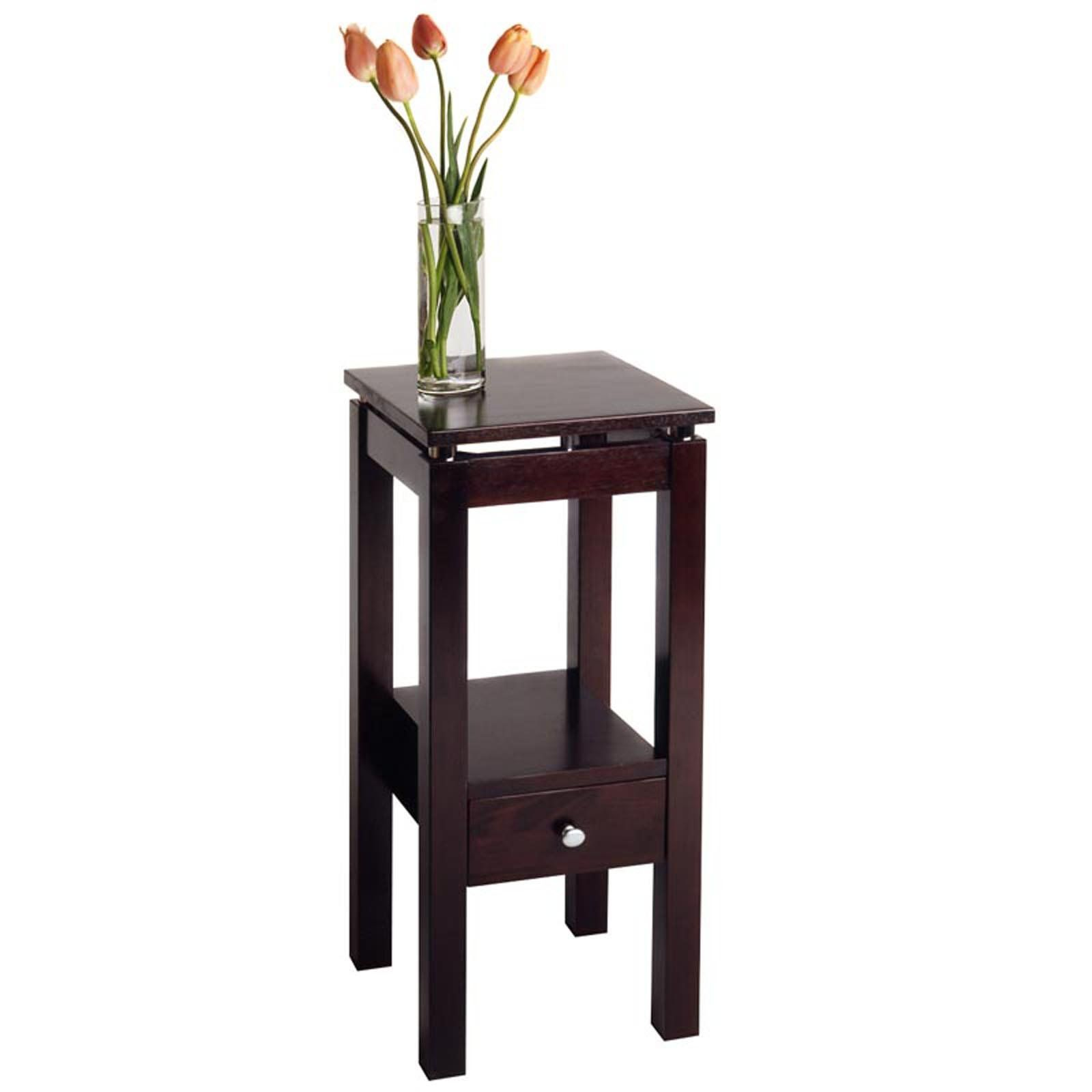 awesome round accent tables with beautiful flower winsome wood table person bar small tiffany lamps vanity unit basin wine rack kitchen scandinavian side brown leather chair black