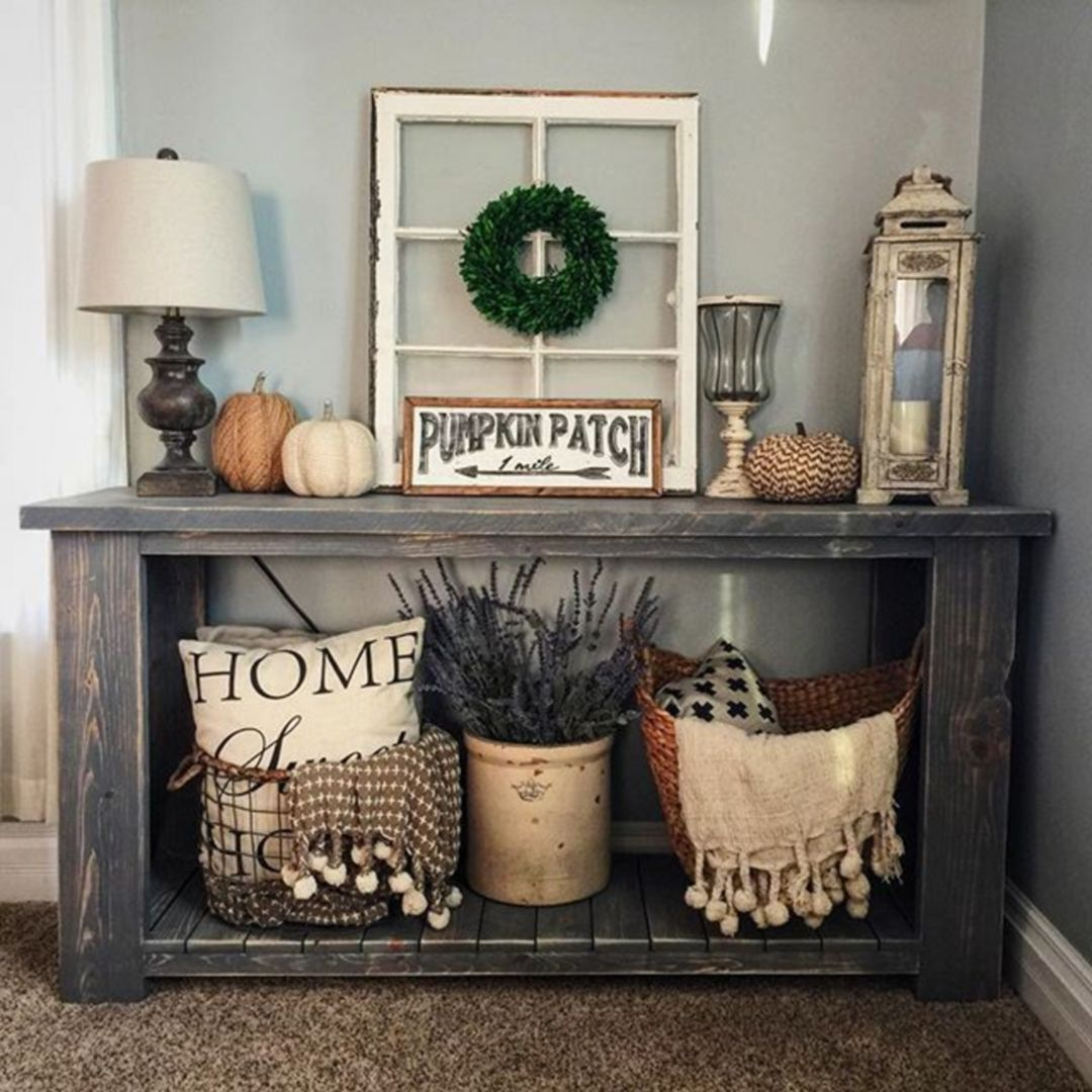 awesome rustic home decor ideas entryway accent table patio lawn chairs black bar height large furniture covers the pier square cocktail tables dark wood bedside round coffee with