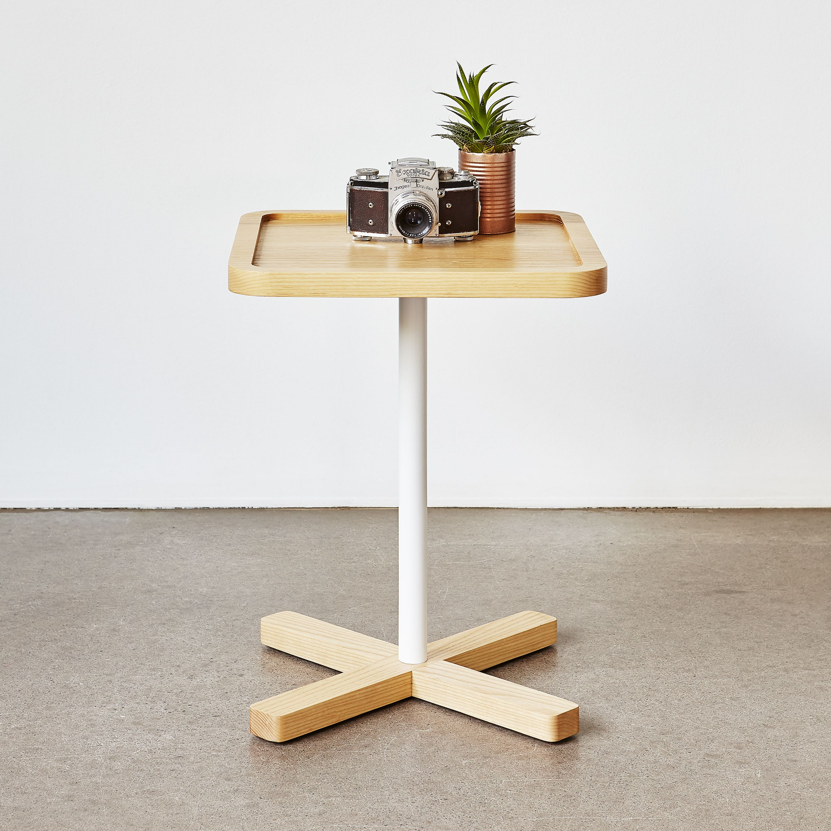 axis end table the organic nordic inspired mini accent design features solid wood routered top and all corners are softened round glass lamp tables danish modern side corner