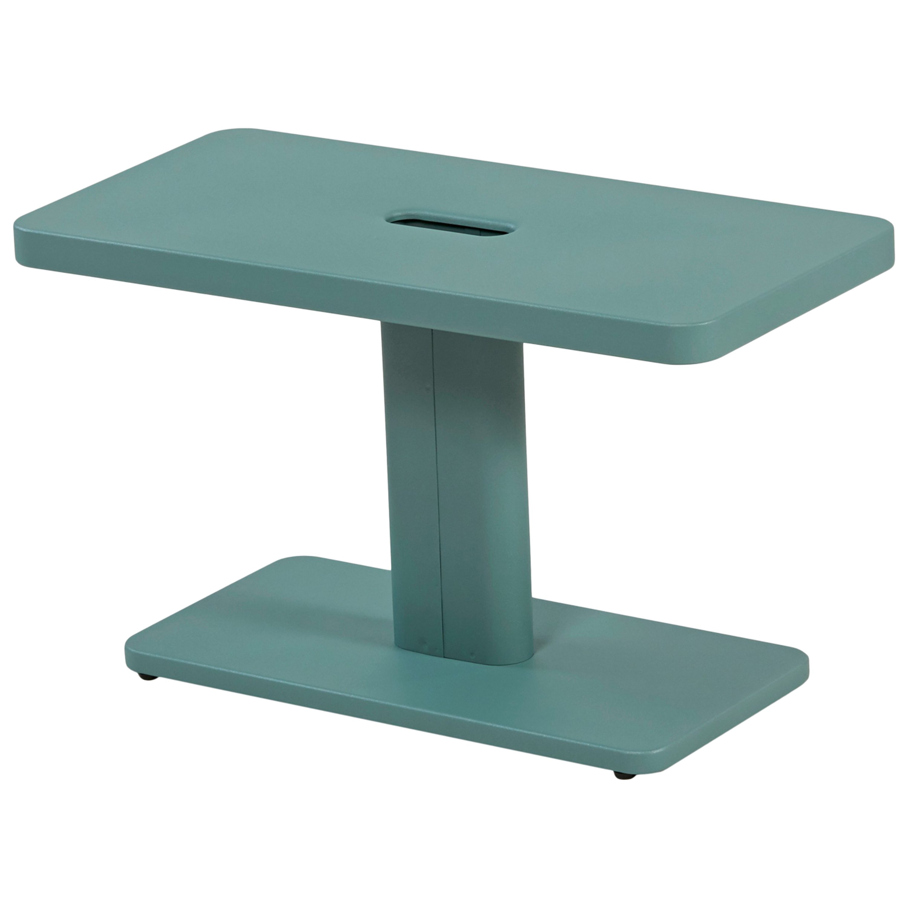 azur outdoor side table sage green frederic gaunet and tolix metal for small folding patio ikea childrens storage units solid pine coffee teak garden furniture pottery barn high
