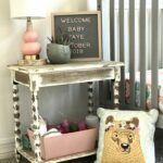 baby fresh coat img hobby lobby accent tables found this great rustic wood table you guessed paired with that adorable pillowfort bear pillow target marquee kirkland wrought iron 150x150