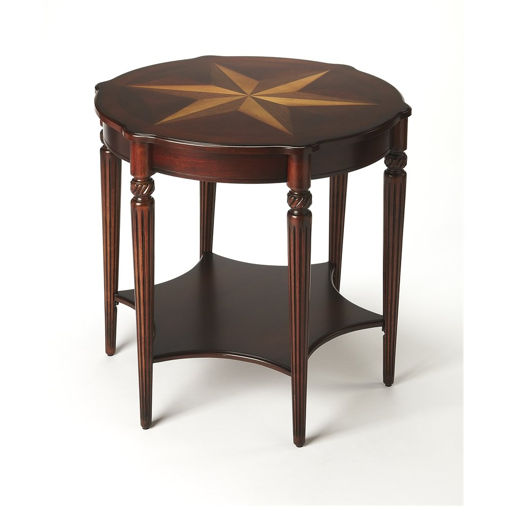 bainbridge plantation cherry accent table wood threshold windham coffee tables rattan outdoor furniture clearance patio covers large round wall clock oak wine rack black dining