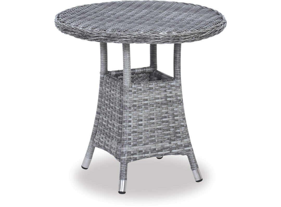 baja round outdoor side table occasional accent black antique marble top blue painted coffee modern concrete gold dining red asian lamp door threshold cover white linen placemats