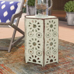 balentine outdoor iron end table reviews joss main ifrane accent white wood mirror round fitted tablecloths safavieh coffee stool carpet door trim wicker target marble style small 150x150