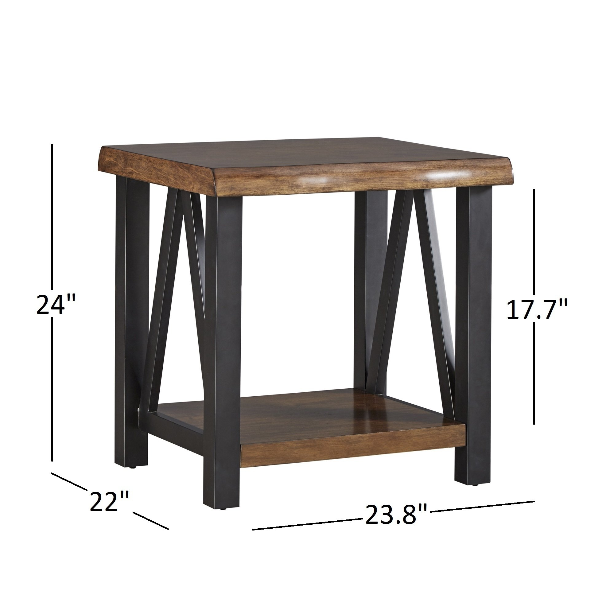 banyan live edge wood and metal accent tables inspire artisan table free shipping today pine desk living room essentials mini drawers upholstered dining chairs small bench