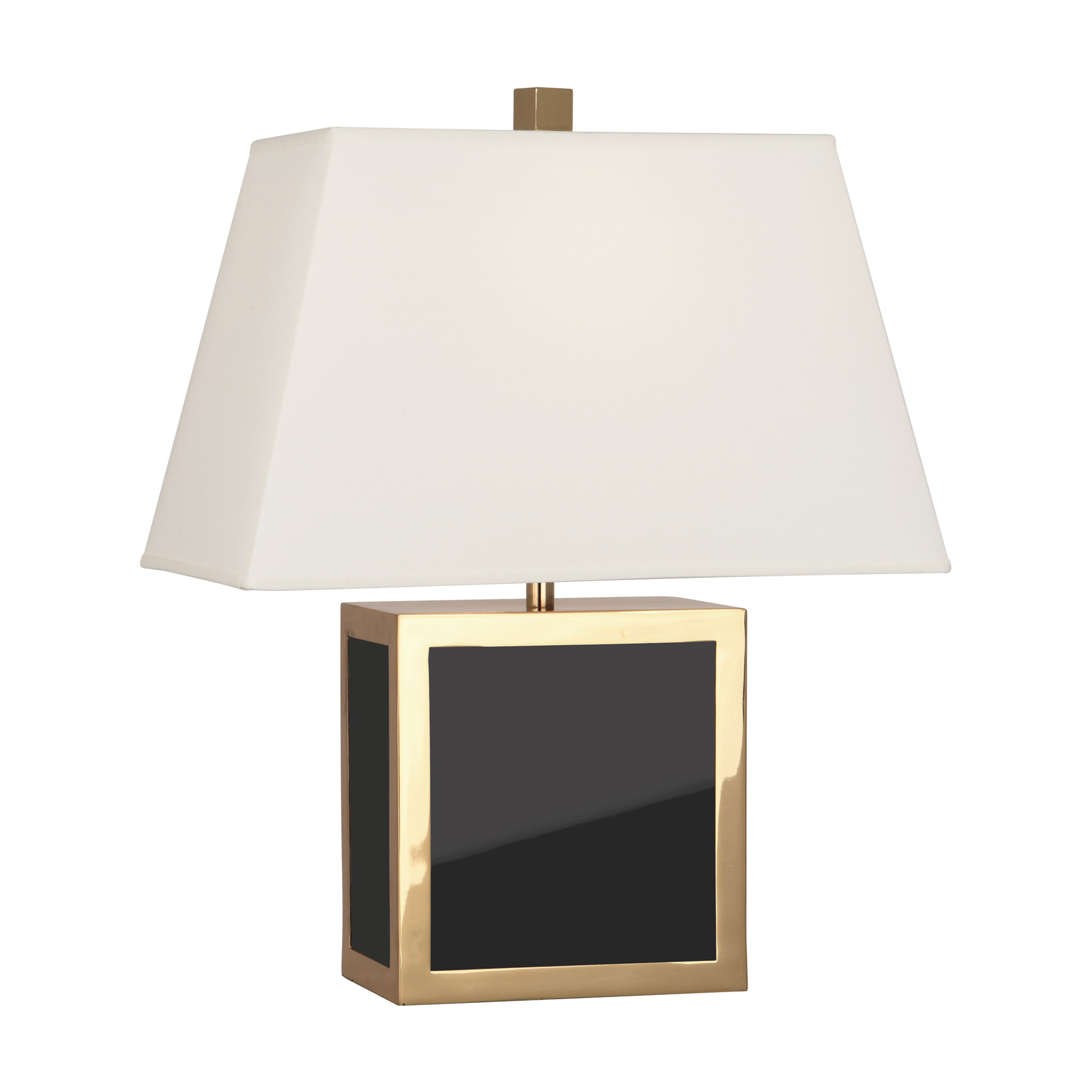 barcelona black accent lamp modern table lamps jonathan adler within tall glass tables living room pub style multi color coffee mirrored foyer pier old barn door wood pedestal