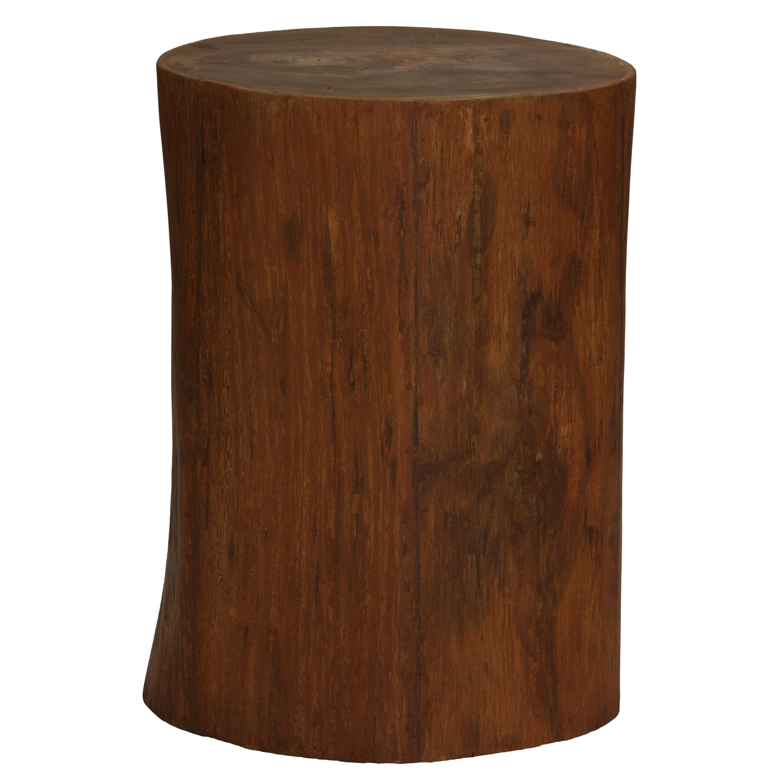 bare decor adi round tree stump end table stool free wood accent shipping today modern ideas touch lamps cherry set ceiling lamp shades green coffee outside and chairs painted