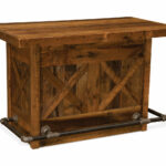 barnwood bar with artisan top hom furniture accent table pier lamps uttermost henzler end leick mission luxury tablecloths inch tall nightstands contemporary dining room lucite 150x150