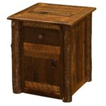 barnwood hickory enclosed end table cabin place accent inch tall nightstands office home goods dressers high back dining room chairs century coffee chest uttermost henzler 150x150