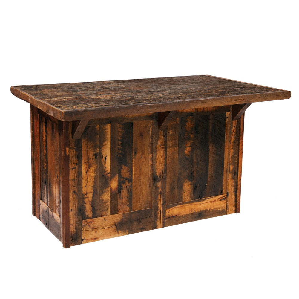 barnwood kitchen island reclaimed oak yhst accent table entry decor ideas inch tall nightstands leick furniture mission antique writing desk contemporary dining room mirrored
