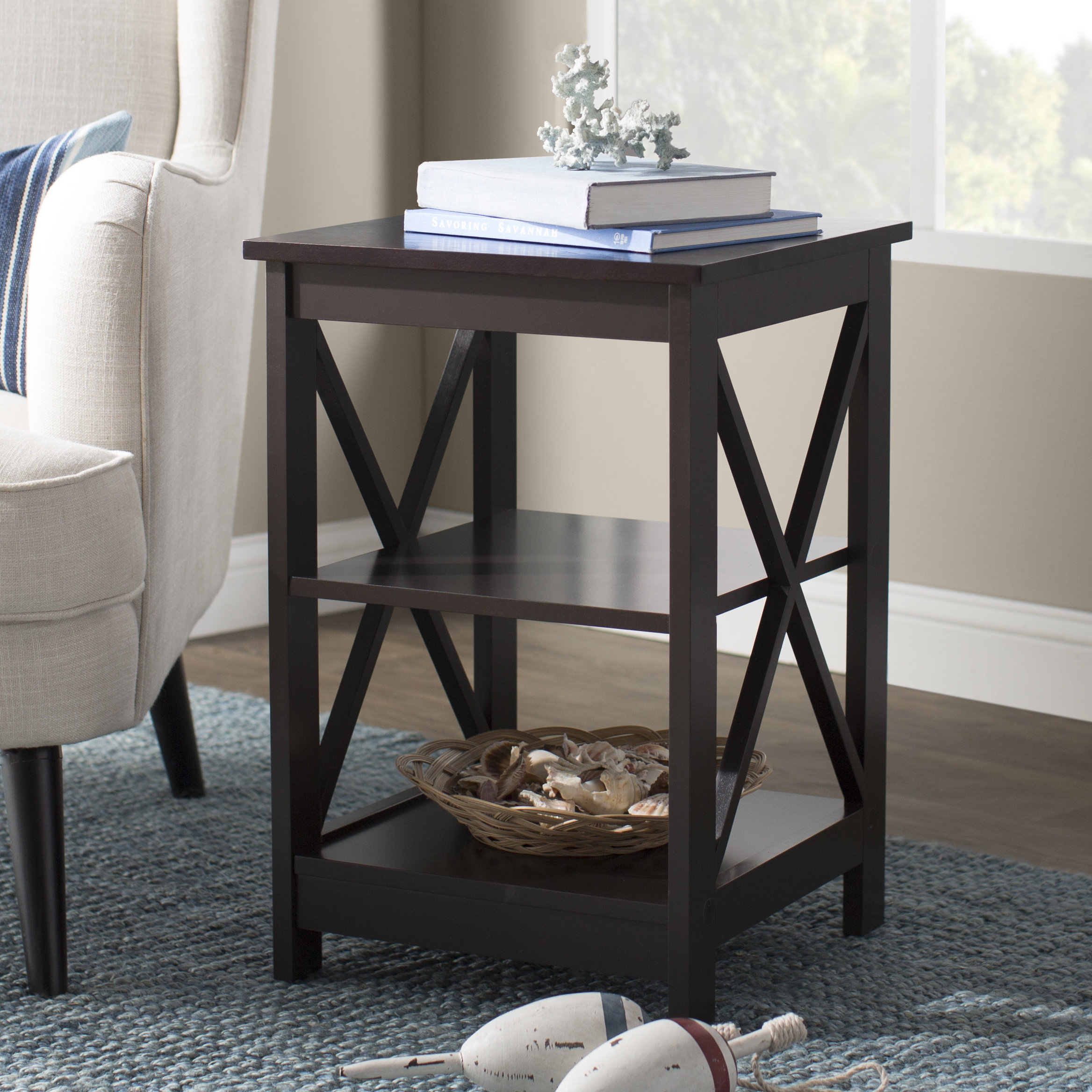 barnwood side table stoneford end room essentials mixed material accent quickview victorian living furniture raw wood aluminium door threshold trim country tablecloths stylish