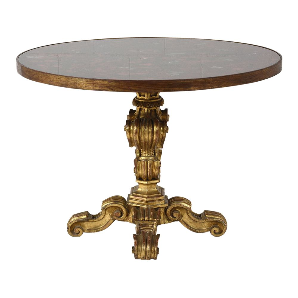 baroque round center table for pamono accent full marble coffee danish furniture lack side vintage metal pier one imports outdoor room essentials assembly instructions west elm