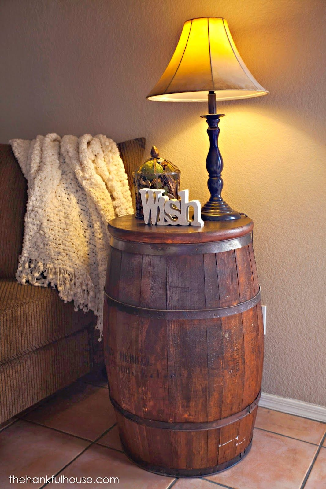 barrel end table inspiration dream home house tables accent raton furniture iron side industrial style wooden floor lamp beautiful round tablecloths modern pedestal frog rain drum