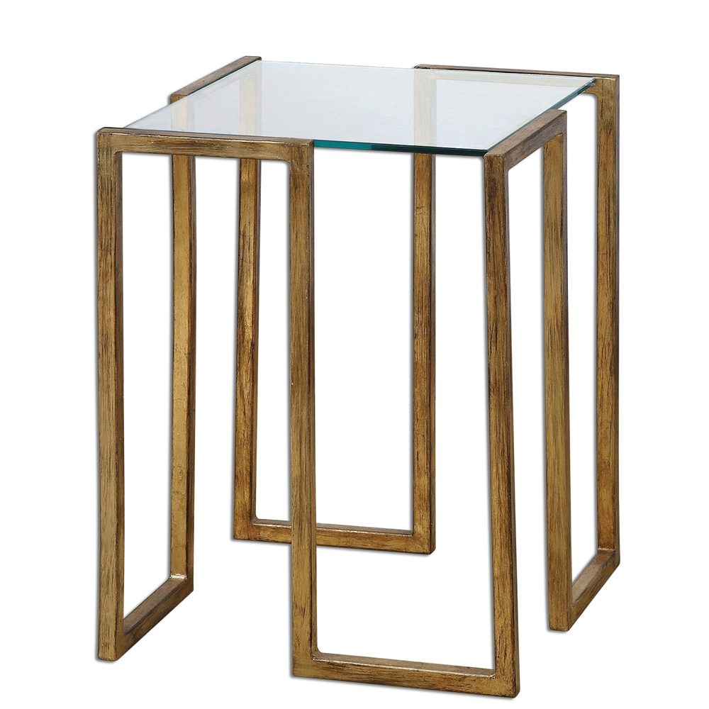 barry wooley designs home furnishings tables antique gold leaf accent table uttermost hammered antiqued furniture edmonton patio chairs west elm carpets duke pottery barn bunnings