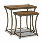 bassey nesting accent table bronze nartina end tables hom furniture knurl narrow glass door designs for rooms small console with storage round coffee stools drum tall traditional 150x150