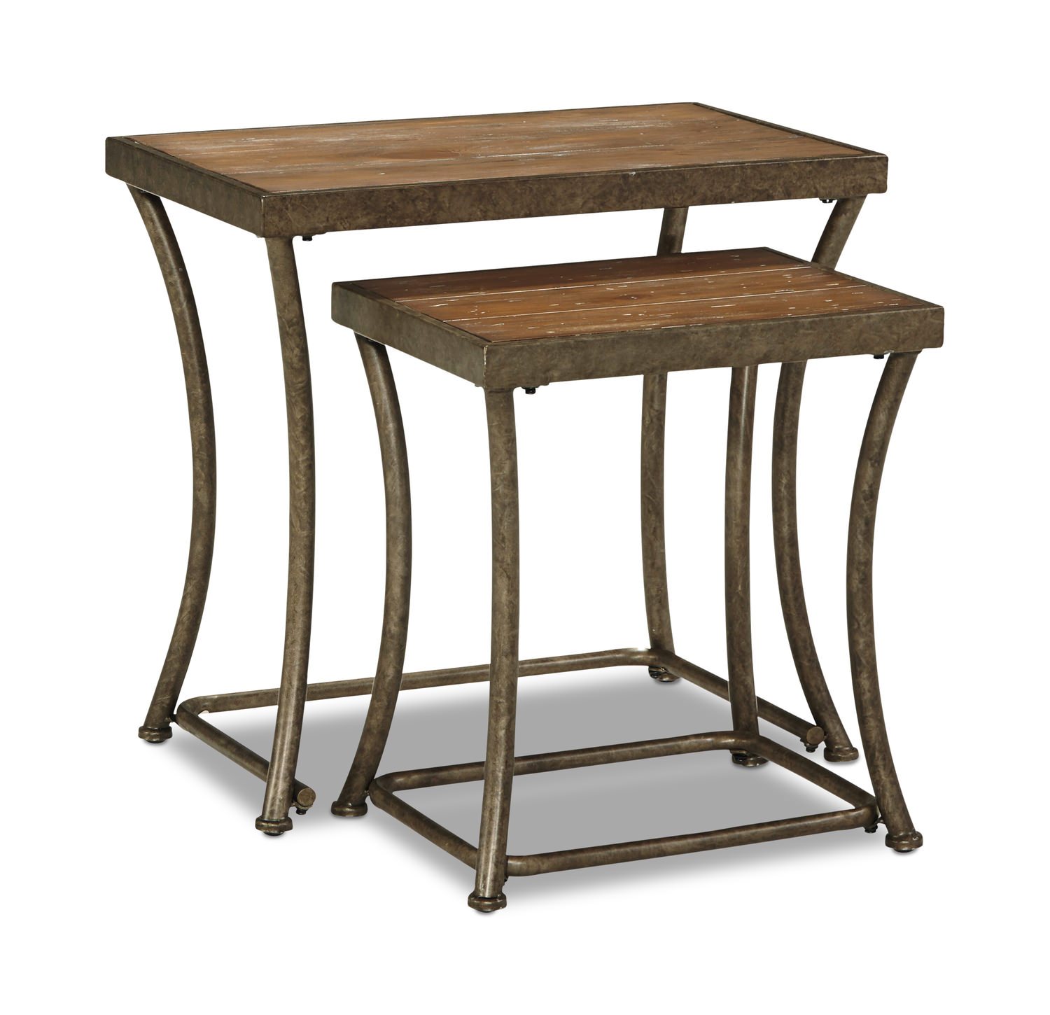 bassey nesting accent table bronze nartina end tables hom furniture knurl narrow glass door designs for rooms small console with storage round coffee stools drum tall traditional