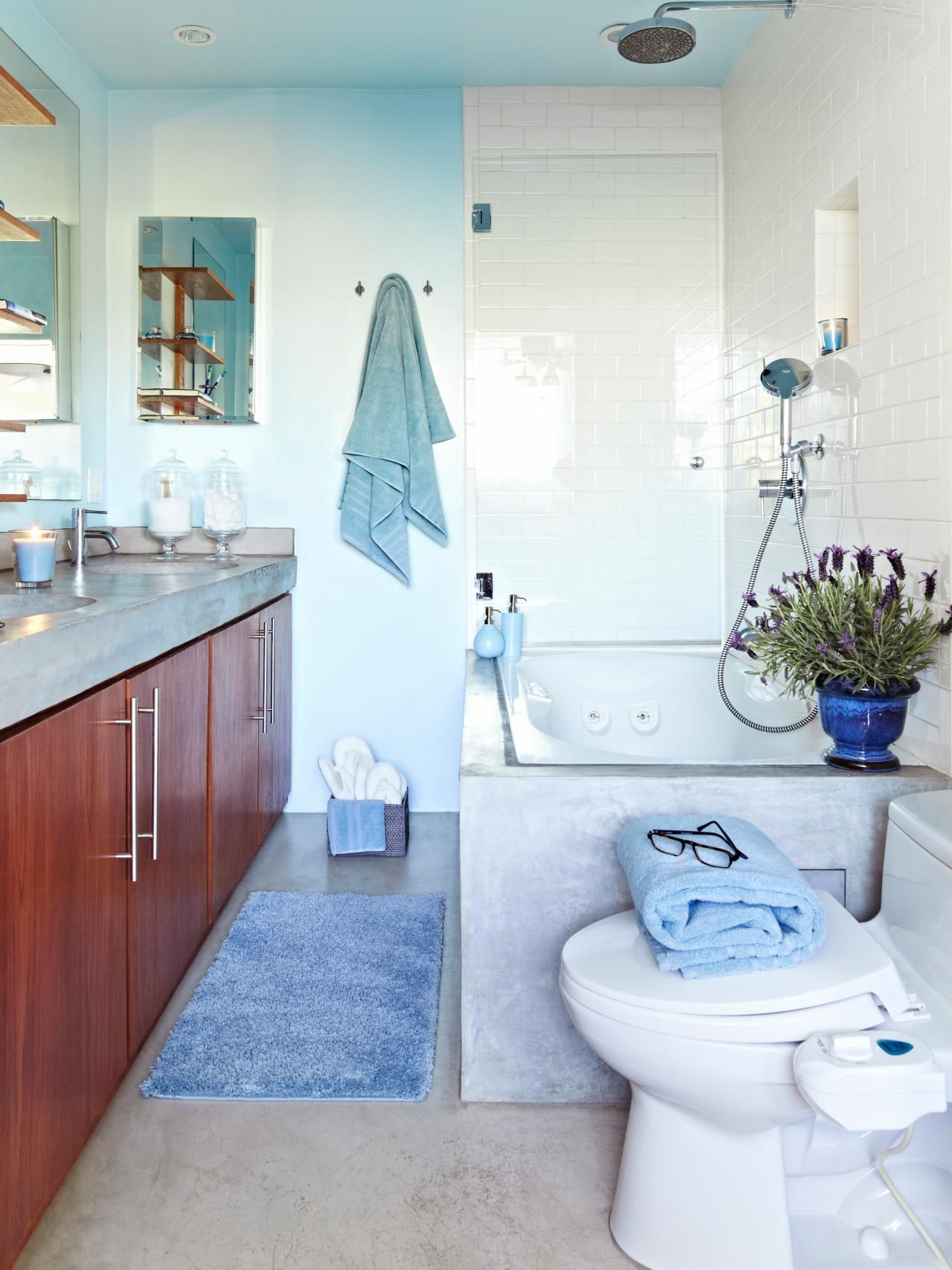 bathroom colors tiles for bathrooms including creative tile blue accent table navy inch round outdoor tablecloth builders lighting pier one frames farmhouse coffee plans minsmere