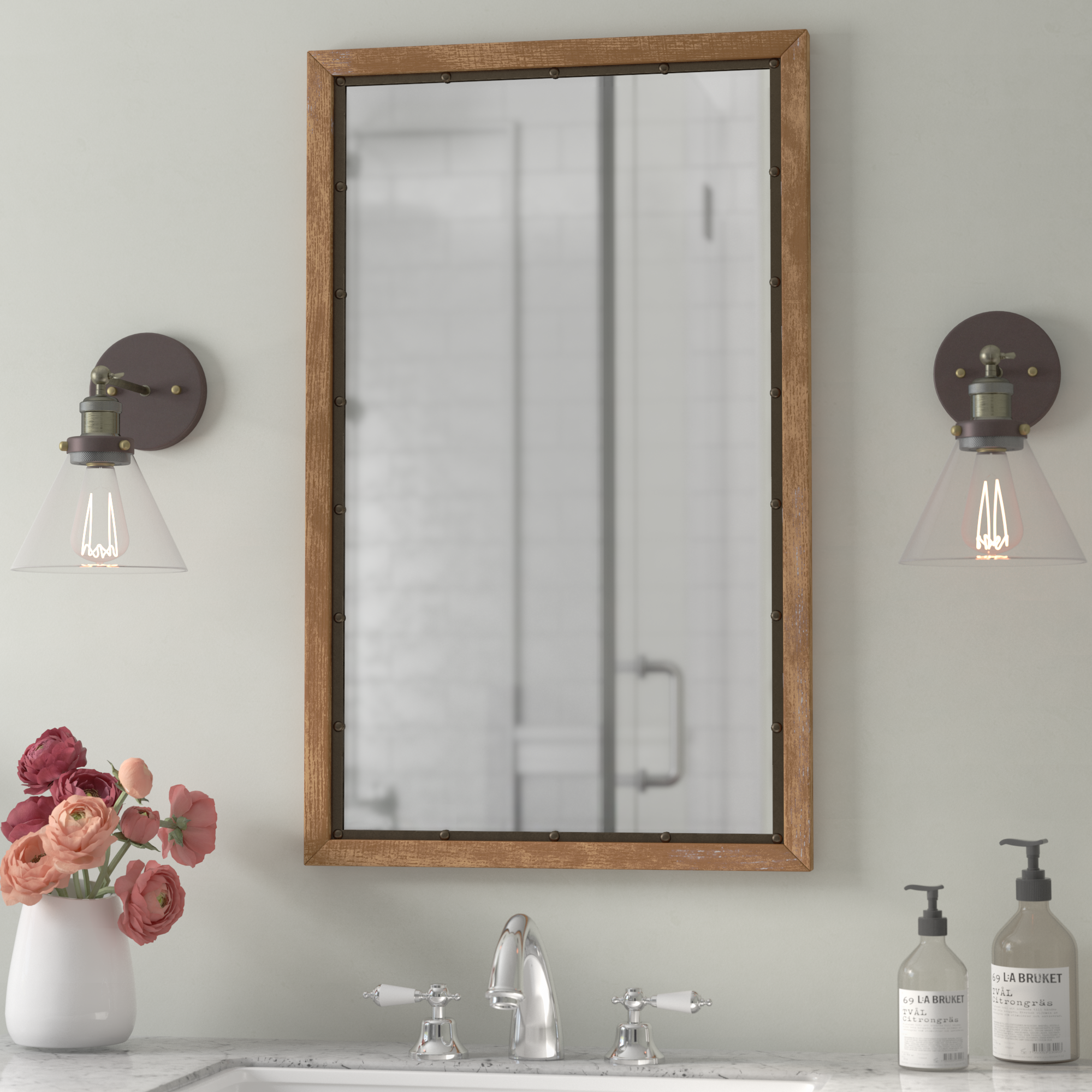 bathroom mirrors birch lane default name uttermost asher blue accent table small glass top reclaimed wood kitchen wall decor meyda tiffany desk lamp ashley furniture piece set