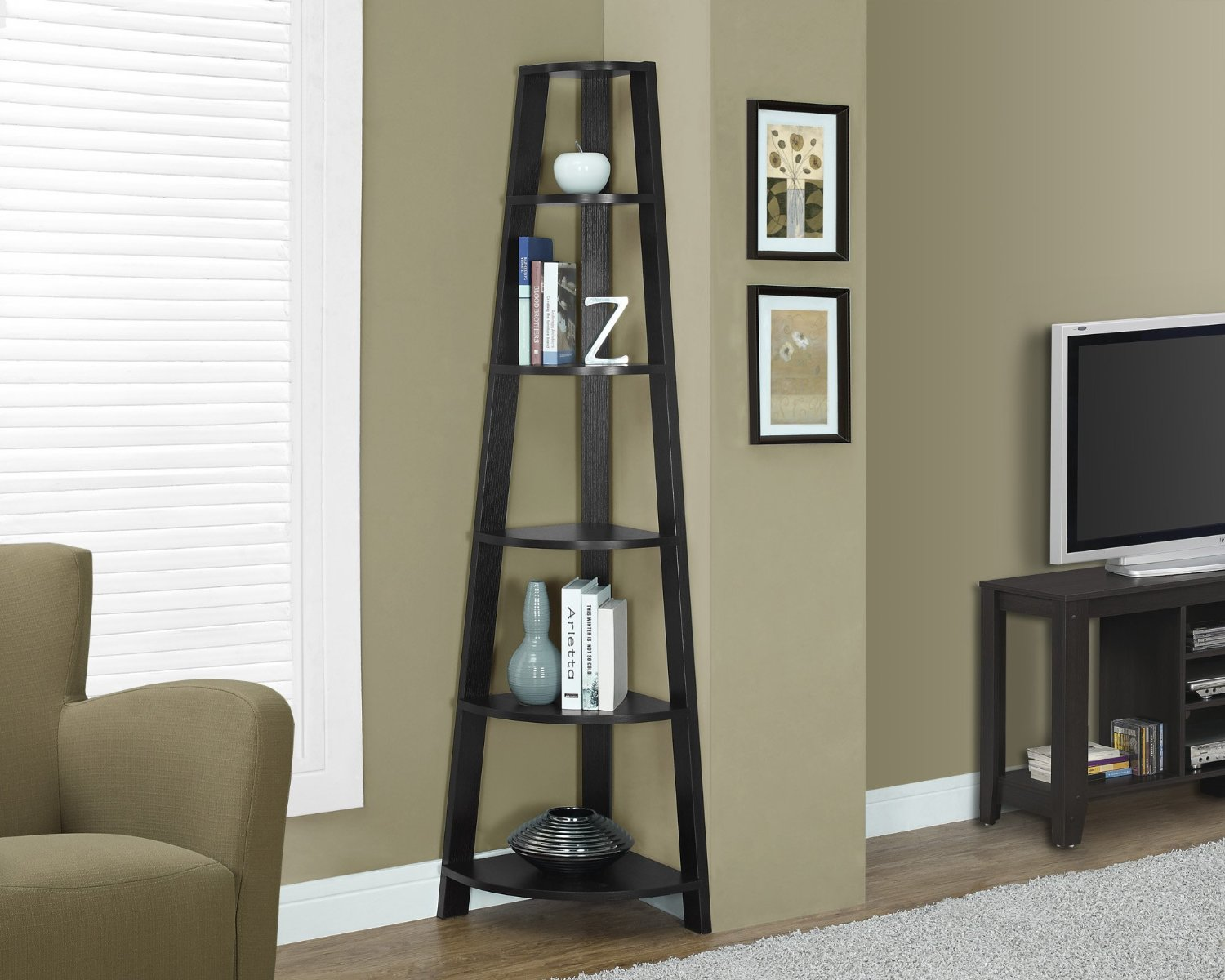 bathroom shower corner shelf the outrageous great oak top amazing ladder shelves for your home office inch cappuccino brown glass above toilet wire orion display unit wall rack
